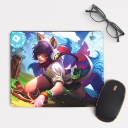 Arcade Ahri League of Legends LoL Mouse Pad Rectangle