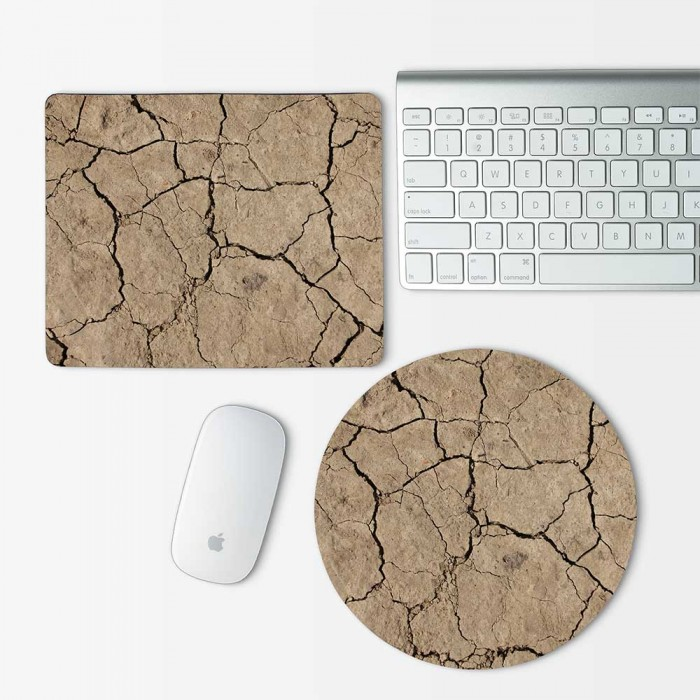 Sand Cracks Mouse Pad Round or Rectangle (MP-0122)