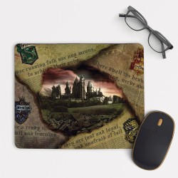 Harry Potter Hogwarts Mouse Pad Rectangle