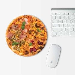 Pizza Mouse Pad Round