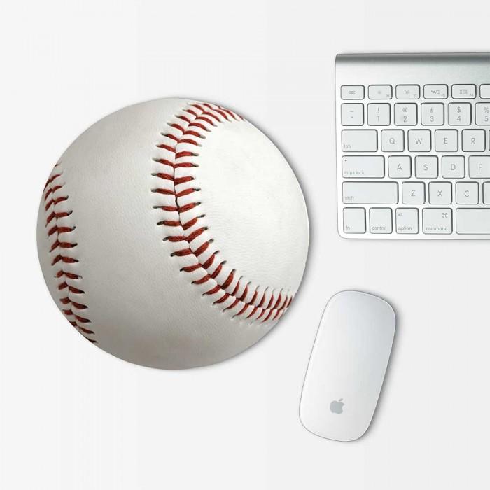 baseballmouse pad round