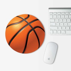 Basketball Mouse Pad Round