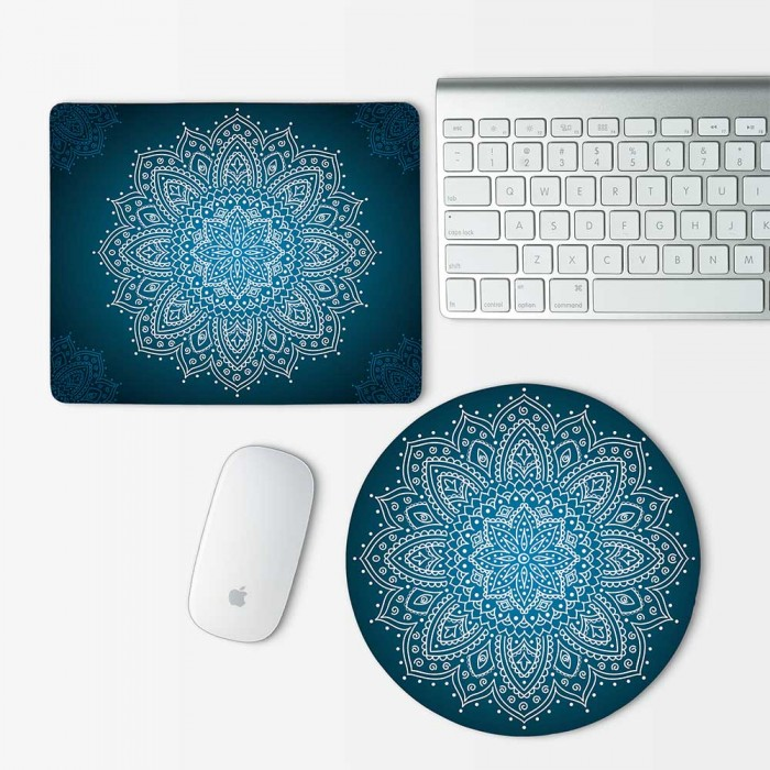 Ornament Mandala Mouse Pad Round or Rectangle (MP-0140)