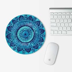 Bohemian Mandala Mouse Pad Round