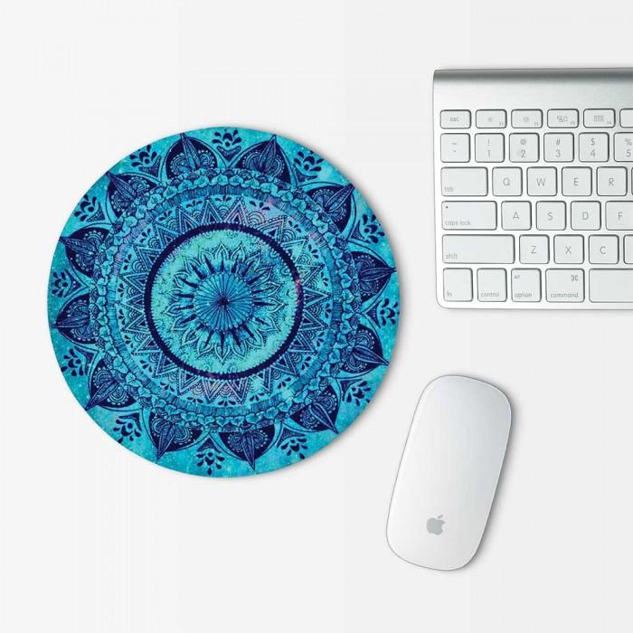 Bohemian Mandala Mouse Pad Round (MP-0141)